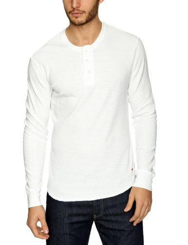 Levi's Waffle - T-shirt - Uni - Manches courtes - Homme, Blanc (L9556 White Smoke L9556), FR: Small (Taille fabricant: Small) Levi's http://www.amazon.fr/dp/B008YBCOUG/ref=cm_sw_r_pi_dp_Q5xfwb1FG4FGG