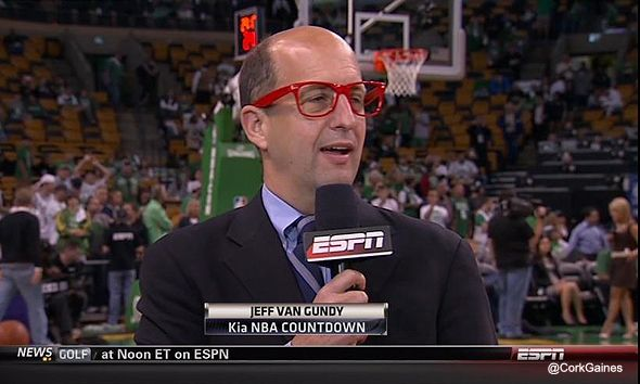 Gundy: Sports Games, Vans, Big Apple, Glasses Jeff, Hipster Glasses