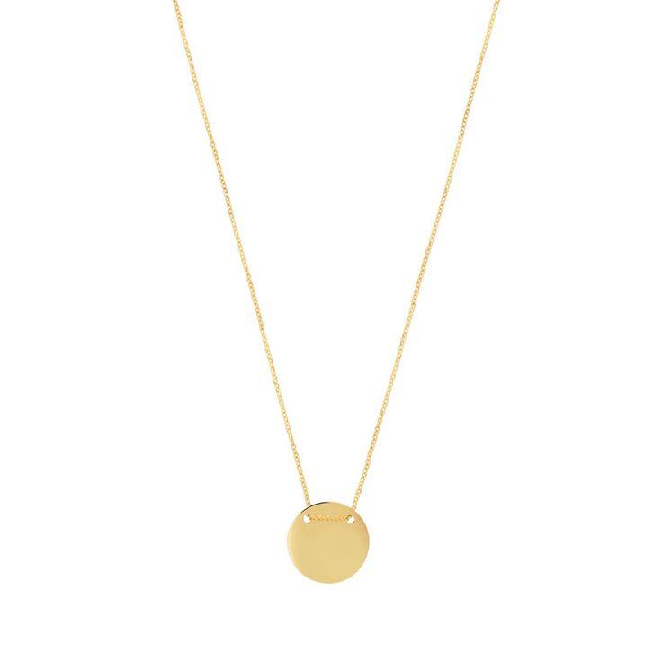 Collier or 375 jaune - Femme - Collier | MATY