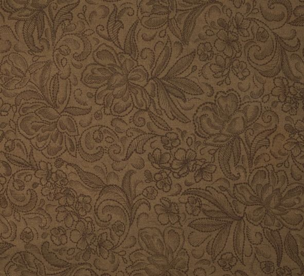 Calla 108 inch Cotton Wide Back - Floral Sketch Brown  #ruler #spreadthelove #newstuff #quilting