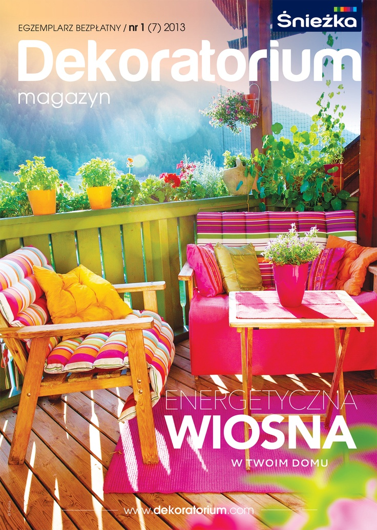Nowy numer magazynu Dekoratorium! Już jest! Na naszym wortalu możecie przejrzeć go online lub zamówić bezpłatną prenumeratę :)