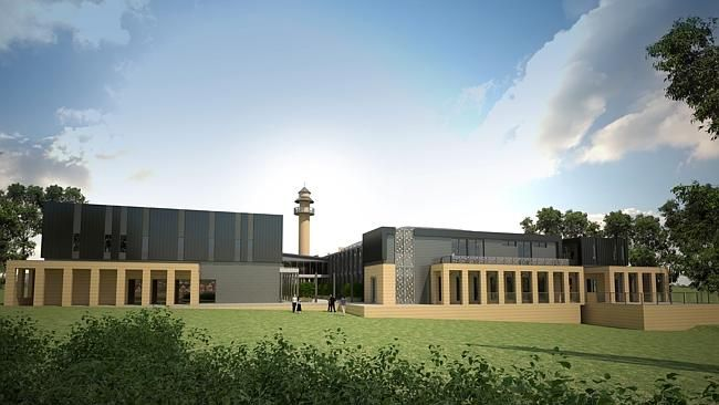 An image of the proposed Bendigo mosque.