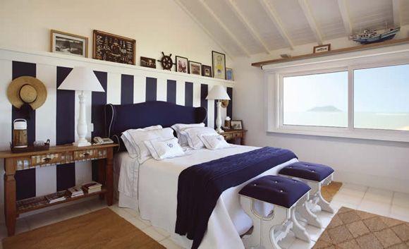 Revista Imóveis» Tenha em casa uma decoração com inspiração náutica