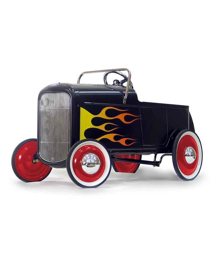 1932 Flaming Roadster Pedal Car