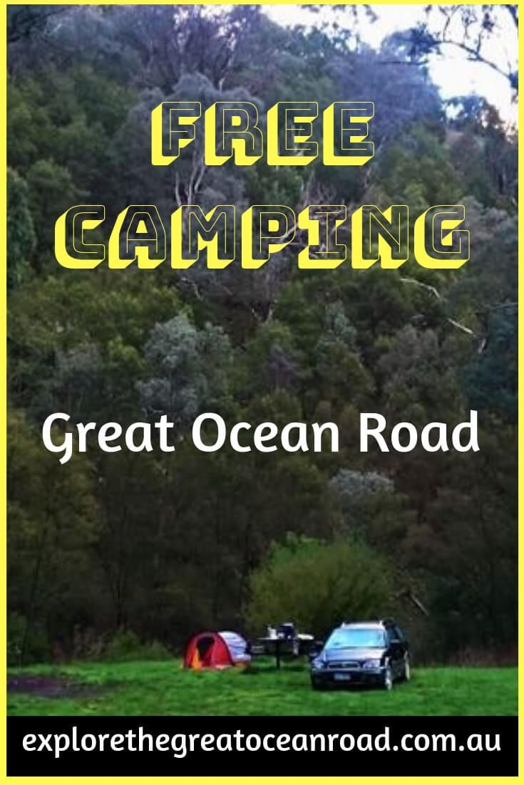 Camping along The Great Ocean Road - Free Campgrounds & Caravan