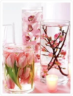 Recessionista Bride: Submerged Centerpieces By  Wedding Invitations, Style, Planning and Inspiration -- see more at LuxeFinds.com by oldrose