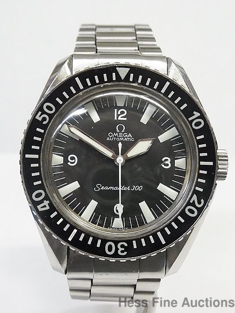 Scarce SS 1960s Omega Seamaster 300 Cal 552 Vintage Watch 24716344 #Omega #LuxurySportStyles