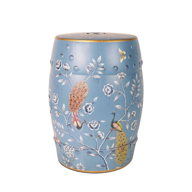 A Traditional Floral Motif With Regal Peacocks And Butterflies