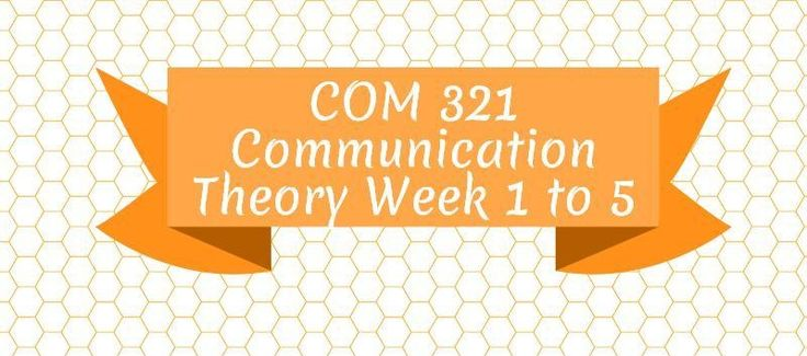 COM 321 Communication TheoryCOM 321 Week 1 Assignment, Your Study of CommunicationCOM 321 Week 1 DQ 1, Aristotle's Classification SchemeCOM 321 Week 1 DQ 2, Four Perspectives on CommunicationCOM 321 Week 2 Assignment, Personal ConstructsCOM 321 Week 2 DQ 1, StereotypesCOM 321 Week 2 DQ 2, Language a