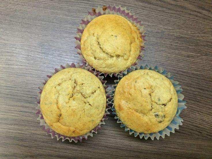 Banános mazsolás muffin | Manó Menü