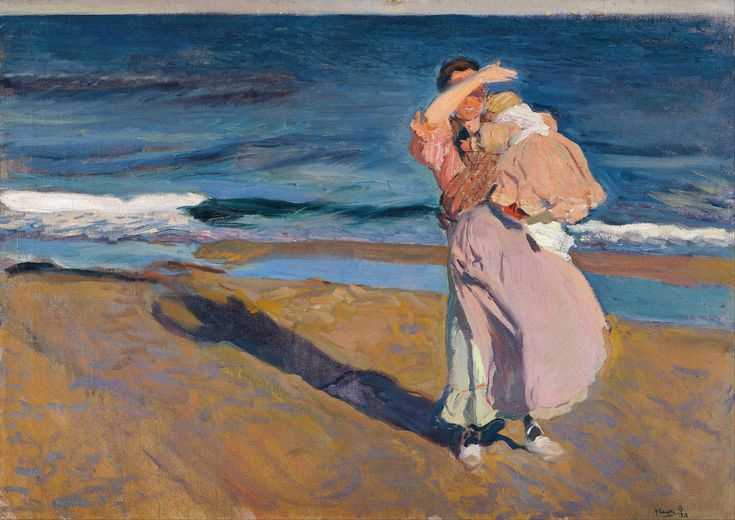 Joaquín_Sorolla_y_Bastida_-_Fisherwomen_with_her_son_-_Google_Art_Project.jpg (4794×3390)