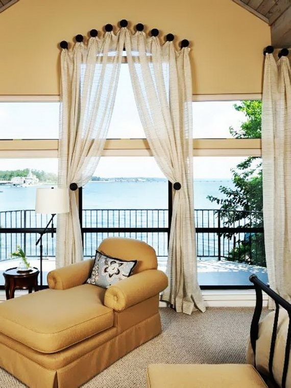 Traditional Bedroom Window Treatments Design Pictures Remodel Decor And Ideas