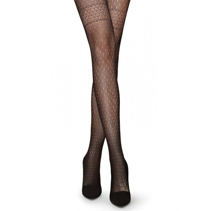 Charly B12 Fishnet Patterned Tights