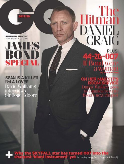 Daniel Craig - GQ magazine, UK, November 2012.