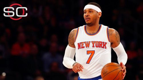 Carmelo Anthony dismisses trade rumors: 'I'm not... #CarmeloAnthony: Carmelo Anthony dismisses trade rumors: 'I'm not… #CarmeloAnthony