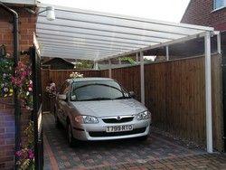 68 best carport images on pinterest for Carport fence ideas