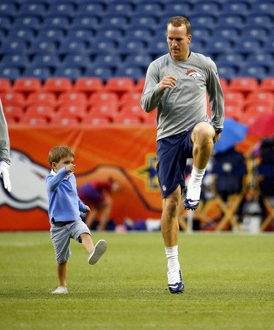 Peyton Manning's Adorable Son Is On His Way To Becoming The Next Great Quarterback