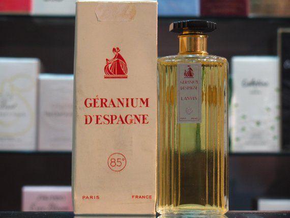 Spain geranium - Lanvin Eau de Toilette 115ml Edt Splash - Vintage ...