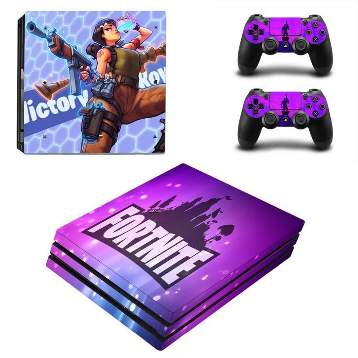 Fortnite latest season sticker skin for ps4 pro console