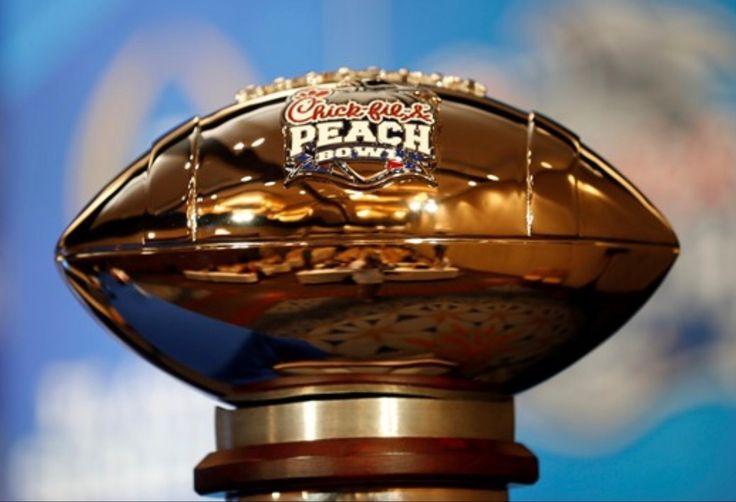 Alabama's Peach Bowl Trophy - Alabama 24 Washington 7 #CFBPlayoff #Alabama #RollTide #Bama #BuiltByBama #RTR #CrimsonTide #RammerJammer
