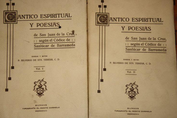 El Cántico espiritual de san Juan de la Cruz