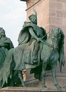 Előd - one of seven chieftains who led the Magyars (Hungarians) to the Carpathian Basin (Hungary)