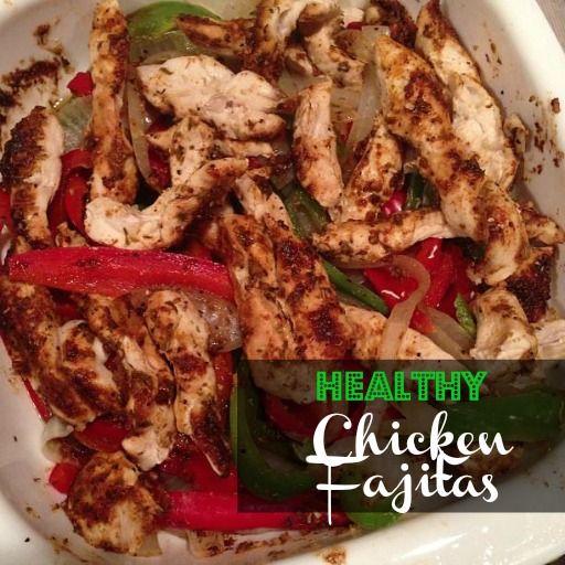 www.smartshopperusa.com  Make your weekly Grocery List using the Voice SmartShopper to make this Healthy Easy Chicken Fajitas Recipe
