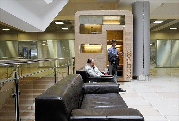 Sleepbox @Sheremetyevo International Airport (© Reuters/Denis Sinyakov). How do I find out more about these?