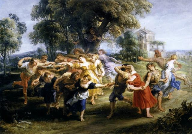 Peter Paul Rubens, The Italian villagers Dance, 1636