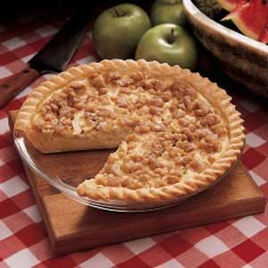 Sour Cream Apple Pie.  I've made this for years, and there are never leftovers.  Amazing.