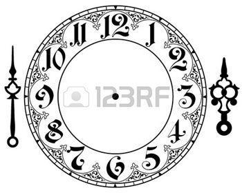 cadran horloge ancienne: horloge Vintage