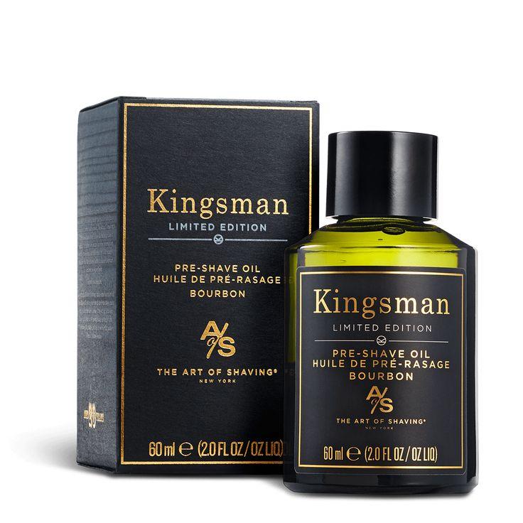 Kingsman: The Golden Circle Bourbon Shave Collection Pre-Shave Oil 2 oz