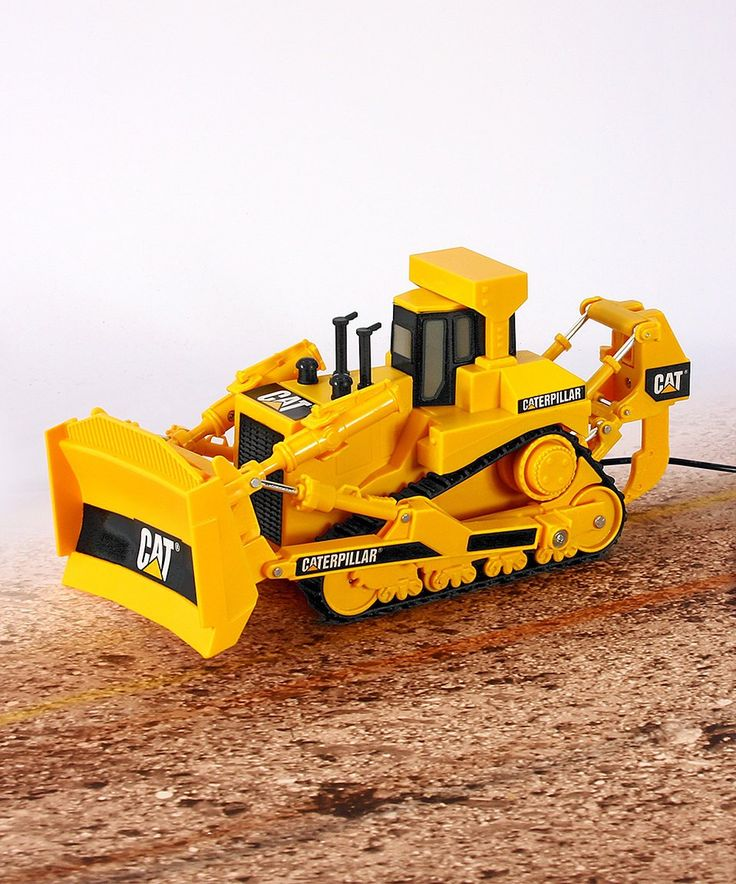 Take a look at this CAT® Big Builder Remote Bulldozer Toy