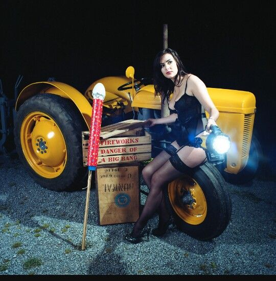 156 Best Girls And Tractor Images On Pinterest  Tractors -9474