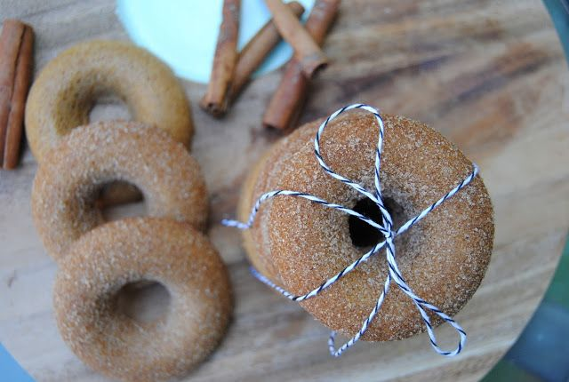 pumpkin spice doughnuts | the hungarican