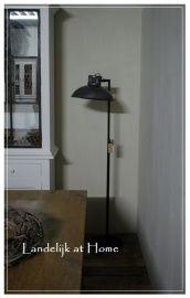 Stoere industriële staande lamp