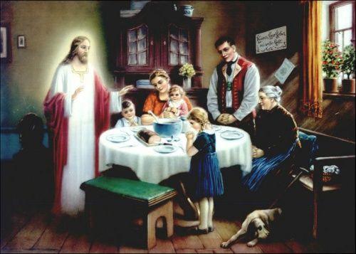 Modlitwa przed posiłkiem – I   Jezus Chrystus