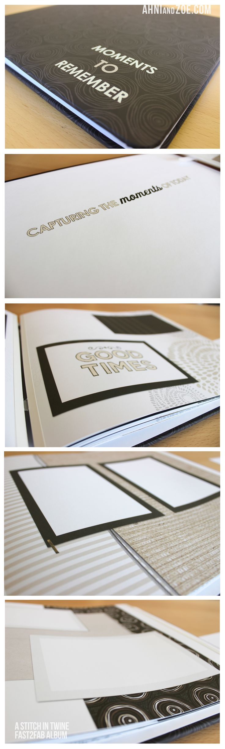 How to refill scrapbook pages - A Stitch In Twine Fast2fab Album Refill Pages