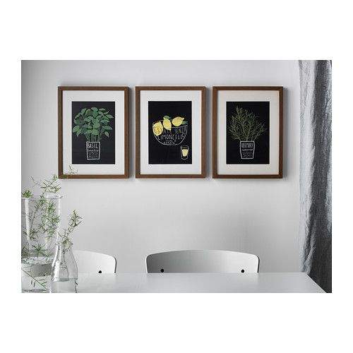RIBBA Cadre - brun moyen - IKEA