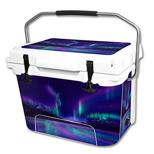MightySkins Protective Vinyl Skin Decal Wrap for RTIC 20 qt Cooler cover sticker Aurora Borealis -- Find out more about the great product at the image link.(This is an Amazon affiliate link and I receive a commission for the sales)
