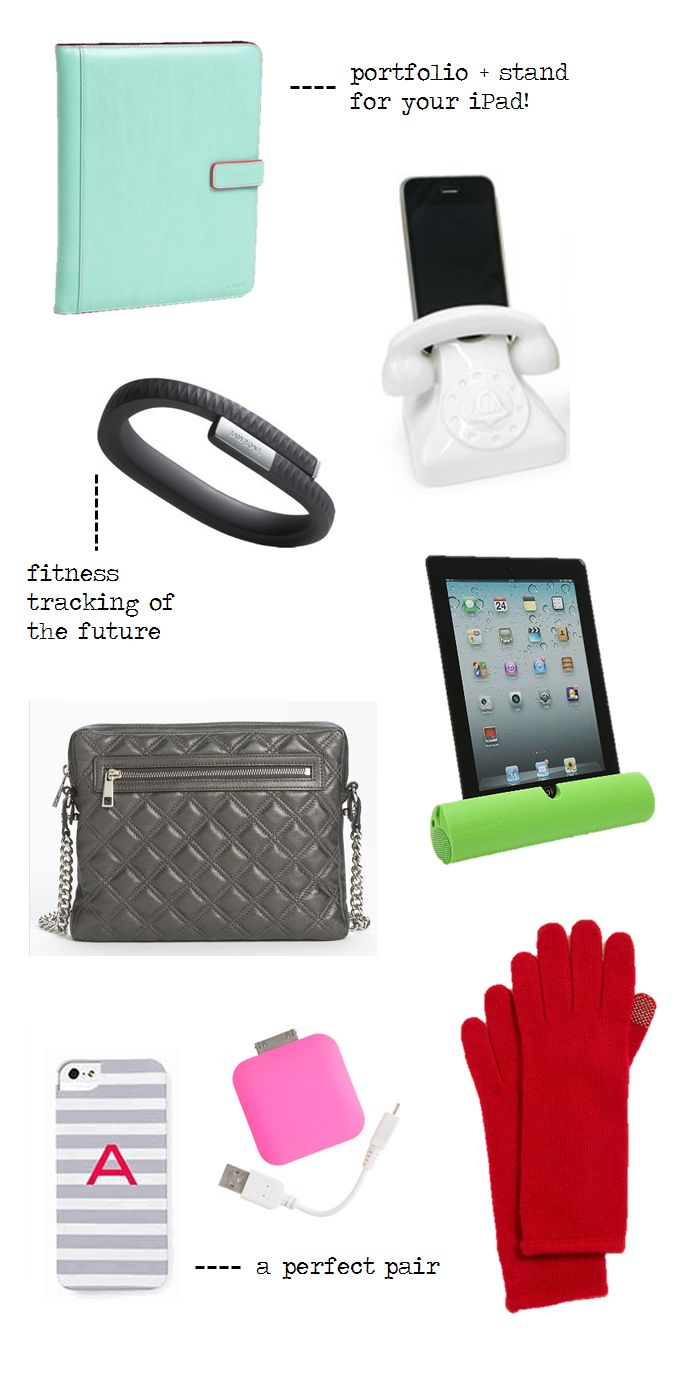 gizmos and gadgets - accessories for your tech.