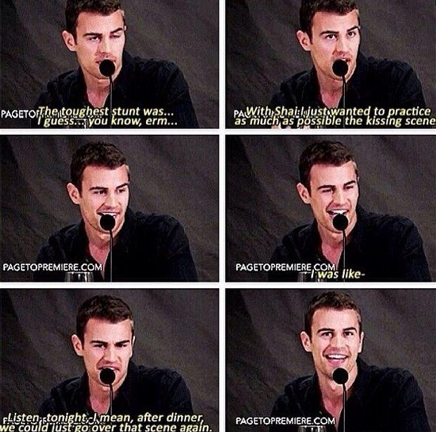 Divergent: Theo James