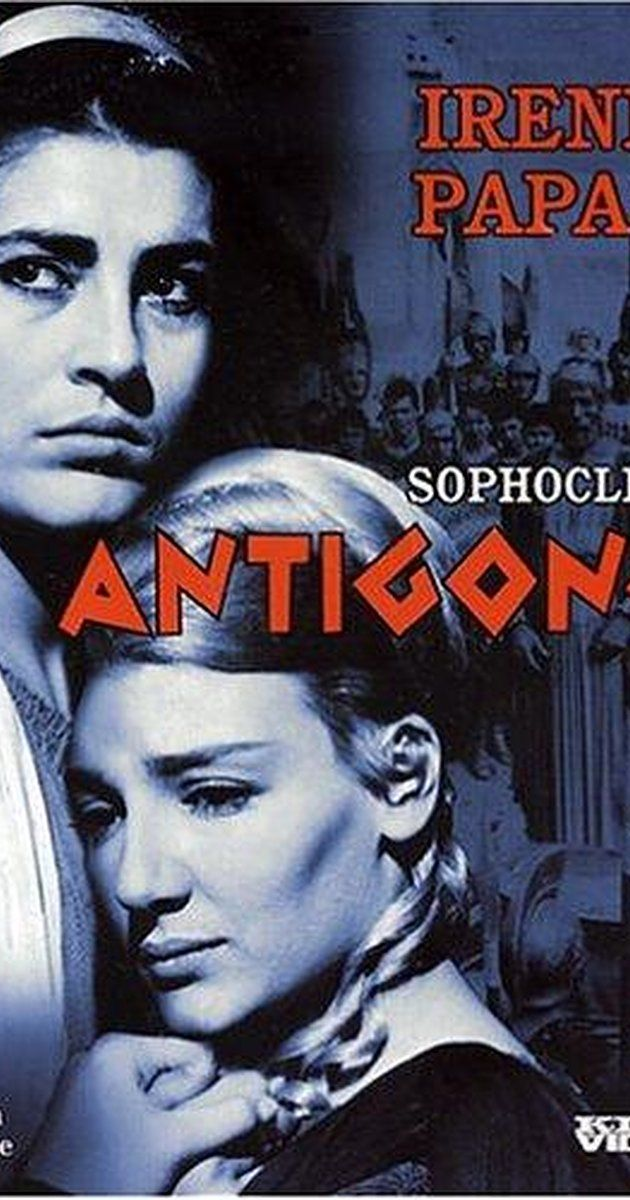 Directed by Yorgos Javellas.  With Irene Papas, Manos Katrakis, Maro Kodou, Nikos Kazis. Antigone defies her uncle's decree that her traitorous brother should go unburied and therefore find no rest in the afterlife; however, her actions have tragic consequences.
