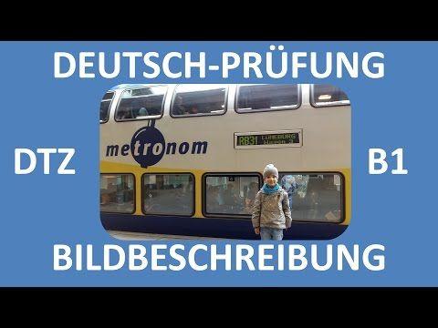 B1-Prüfung (DTZ) -- mündliche Prüfung -- Bildbeschreibung (Junge und Mädchen) -- Deutsch lernen - YouTube
