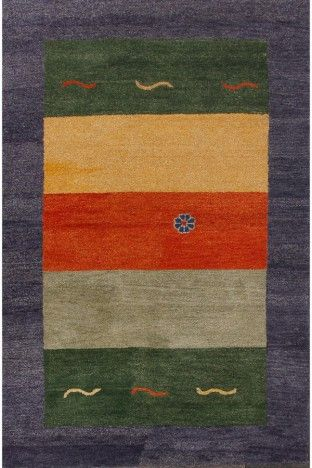Multi Incredible Gabbeh Wool Rug GB-05 $444.00