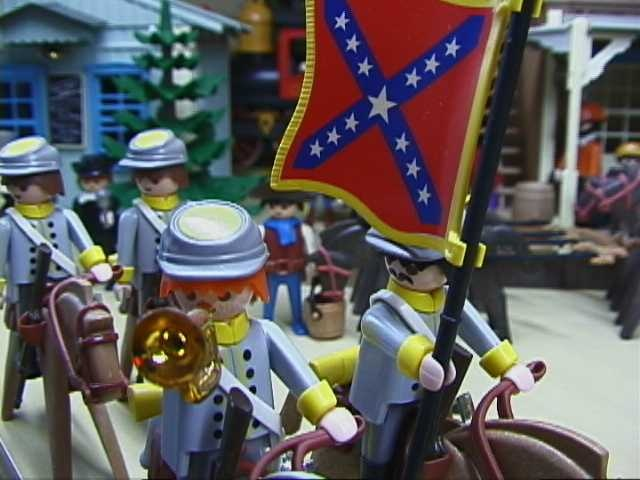 Confederate Cavalry - Playmobil Style  24 Feb. 2013
