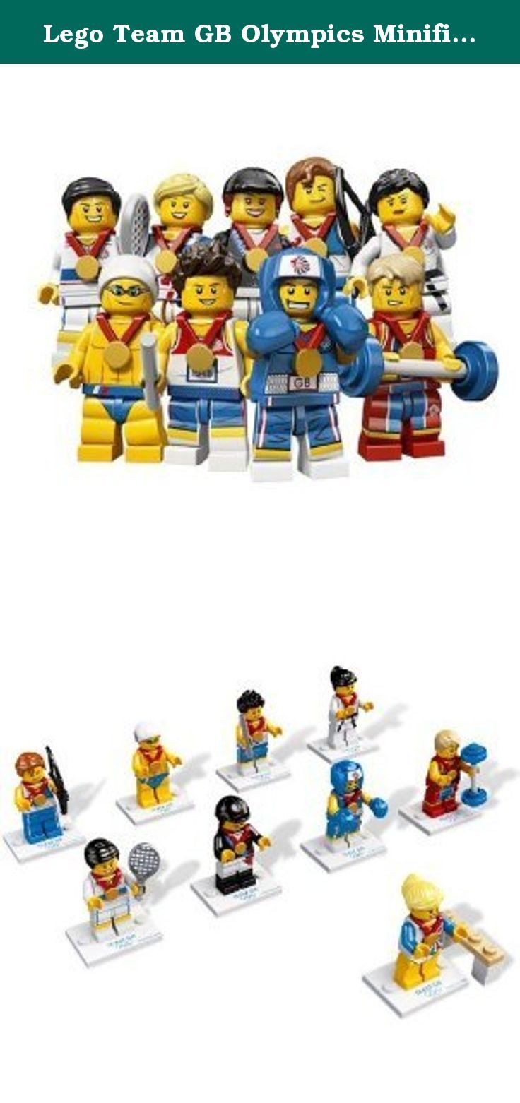 Lego Team GB Olympics Minifigures - Complete SET of 9 #8909 (Uk Exclusive). Brand New, only removed from packaging to confirm contents - All 9 figures included.