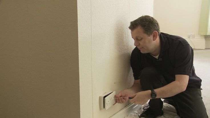 DIY expert Mike Power shows you how to safely move a plug socket https://www.youtube.com/watch?v=PbZe93L2pOs…