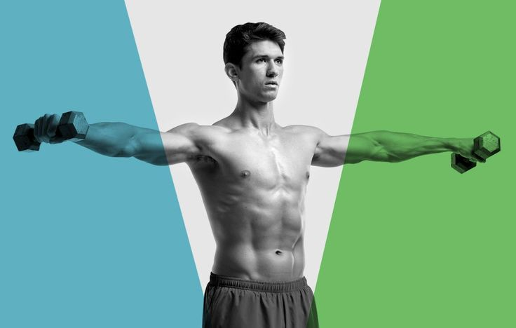 Put them together for a great workout that hits your shoulders from every angle