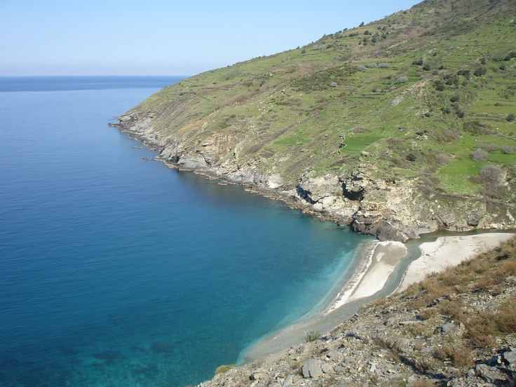 Beach in Sithonia